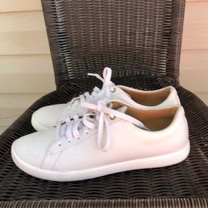 Cole Haan Grand OS women's white leather sneakers